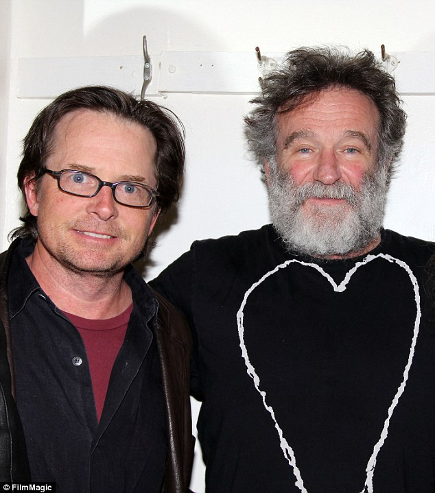 Robin WIlliams MJFox heart