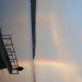 Rainbow over our dock